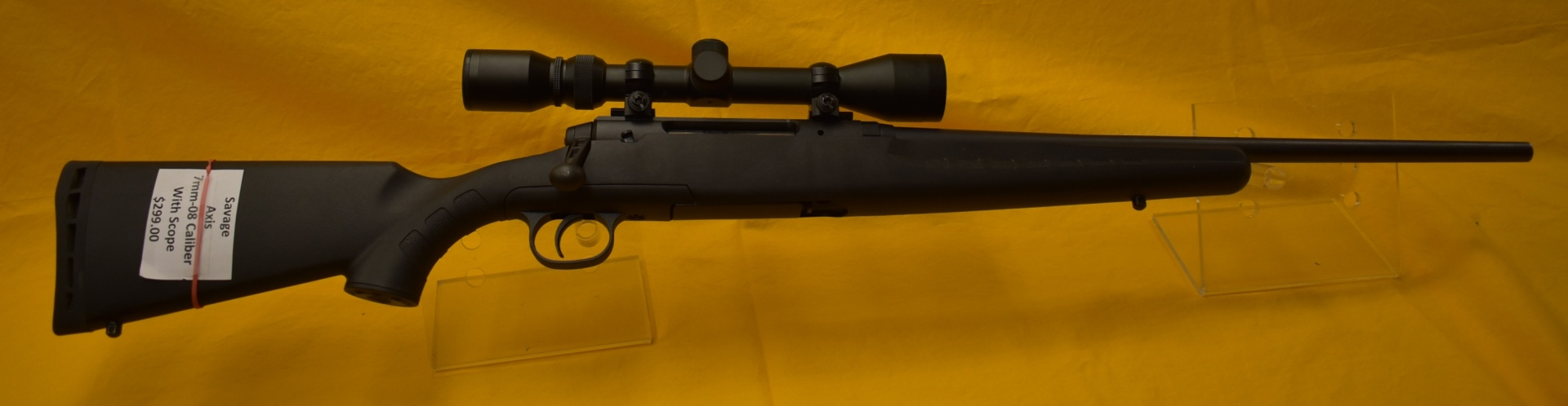 Savage Axis 7mm-08