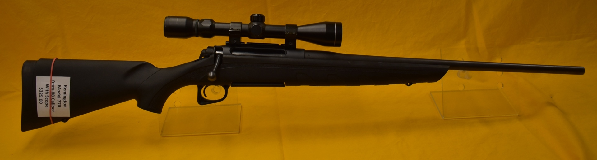 Remington 770 7mm-08 caliber