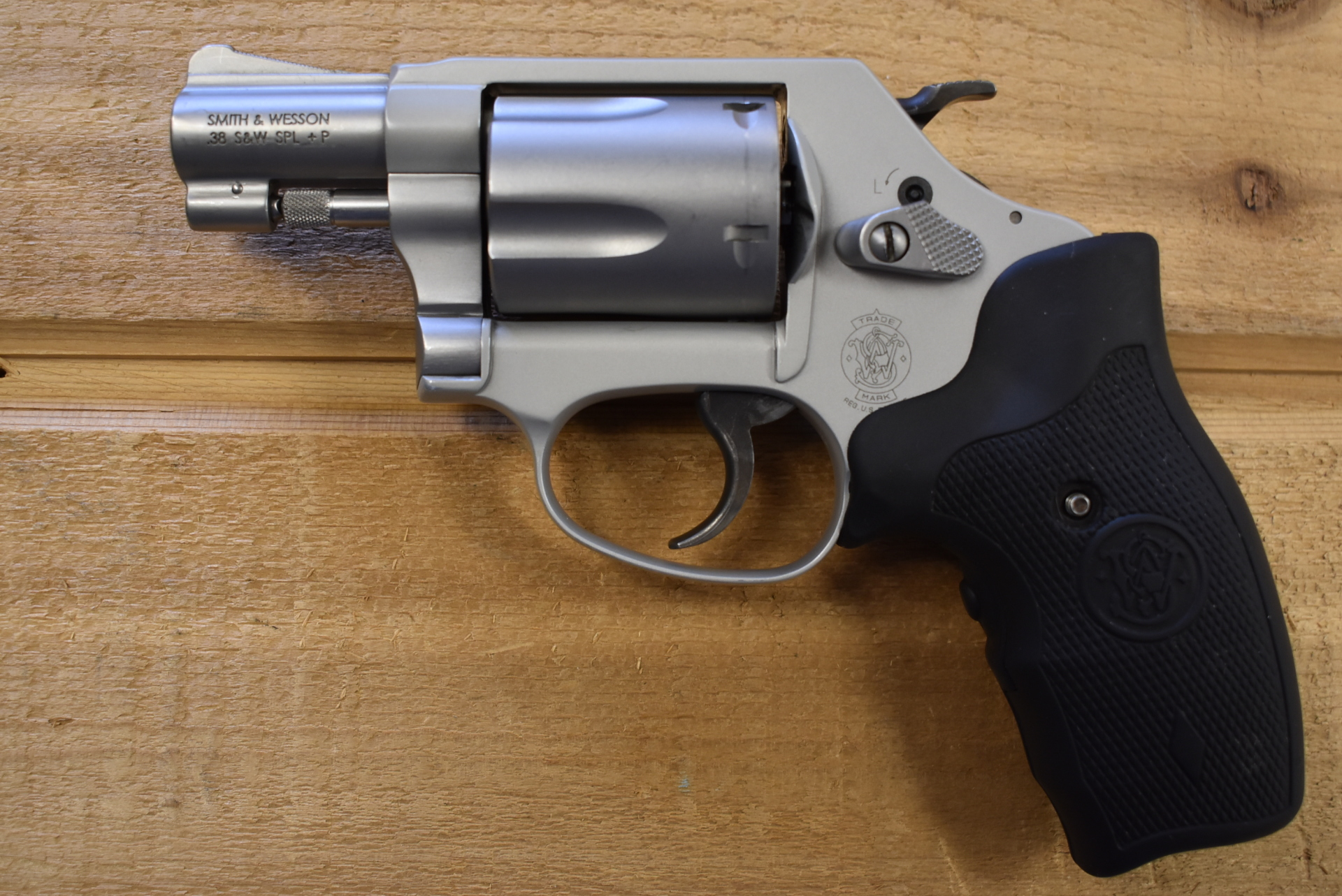 Smith & Wesson 637-2 38 Special +P