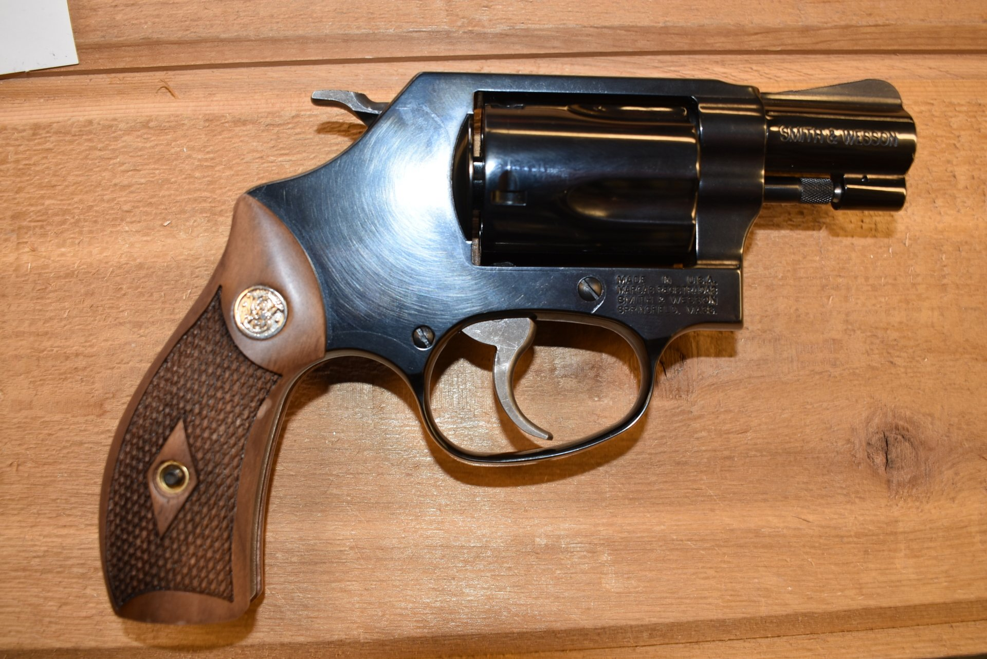 Smith & Wesson 36-10 38 Special